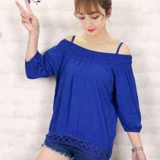 OS blouse fits S-L