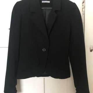 Hot options Black blazer size 8