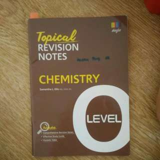 O Level Pure ChemistryTopical Revision Notes