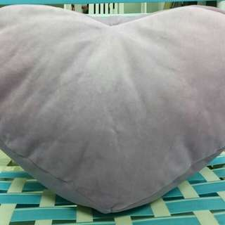 heart-shaped pillow