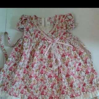 REDUCED! Attractive Floral Dress Ala Laura Ashley