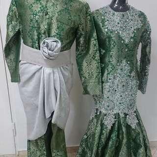 Baju pengantin untuk di jual