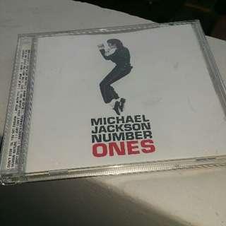 CD Michael Jackson Numer Ones