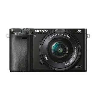 Bisa Kridit Sony Alpha ILCE A6000L KIT 16-50mm f/3.5-5.6 OSS Black Tanpa Kartu Kridit Proses Cepat
