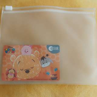 Tsum Tsum Winnie Pooh Ez-link [ $5 Value In Card ]