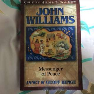 Choose 5 items for $15: John Williams - Messenger of Peace