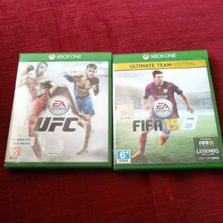Fifa 15 and ufc