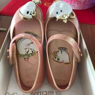 Mini Melissa X Disney Beauty and the Beast shoes