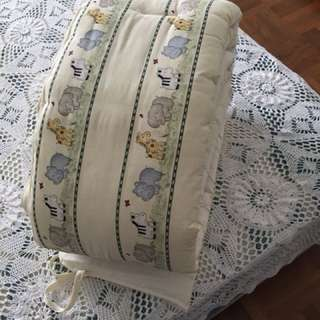 Baby cot cotton bumper
