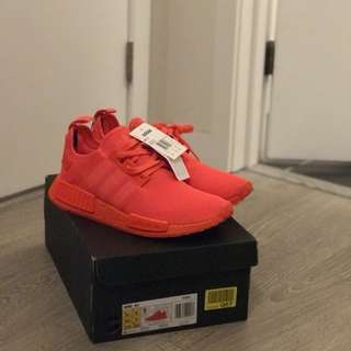 Adidas NMD R1 Triple Solar Red S31507 Size 9.5