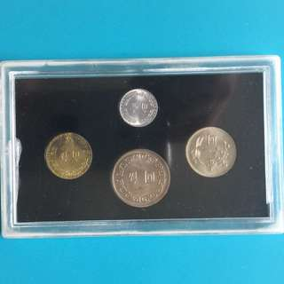 Taiwan coin set Year 1971 ( 4coins) sale 30%