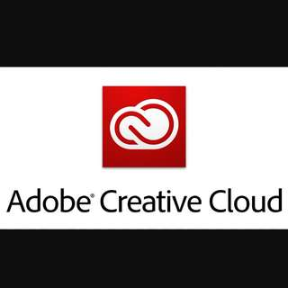 ADOBE CREATIVE CLOUD LIFE TIME SUBSCRIPTION!!