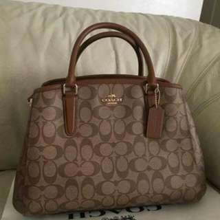 Authentic Margot Coach Bag