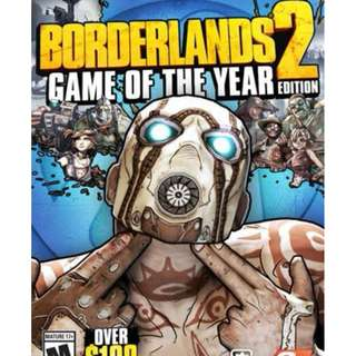 Borderlands 2 Game Of The Year Steam Key GLOBAL PC
