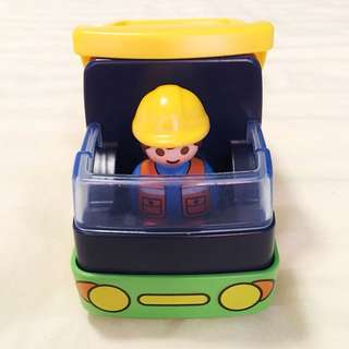 Playmobil Construction Truck and Worker