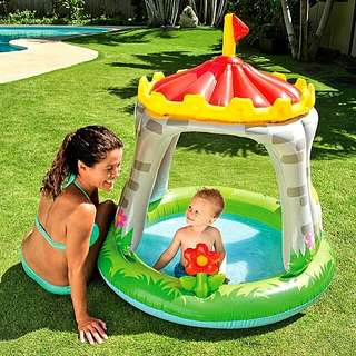 OFFER ! INTEX ROYAL CASTLE POOL