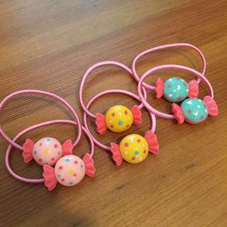 Cute Candy Hair Ties/ Hair accessories *BRAND NEW*
