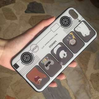 MINISO WE BARE BEARS CASE
