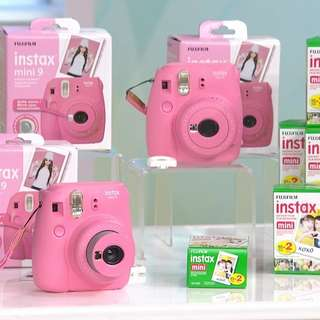☆READYSTOCK☆Fujifilm Instax Mini 9(Flamingo Pink)