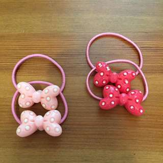 Cute Minnie hair ties *Brand New*