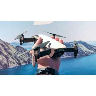 Drone Rental: DJI Mavic Air Fly More Combo