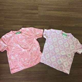 Girls tshirt floral