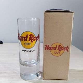Hard rock cafe shot glass Honolulu