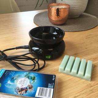 Scented wax melter