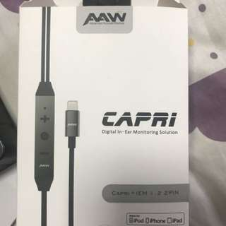 AAW Capri + IEM light connected cable ( 2 pin )