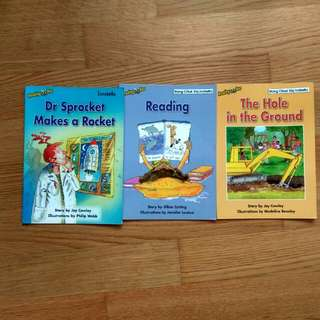 $1.50 spelling bee sale emergent 3 series. 3 for $4.50 (or $2.90 each) good condition