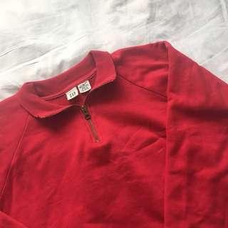 Red Gap quarter zip