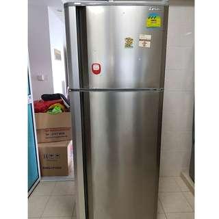 Mitsubishi refrigerator 2 door to go soon