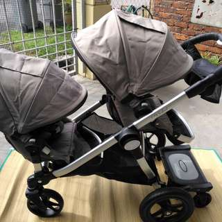 Baby Jogger City Select Twin Tandem Stroller