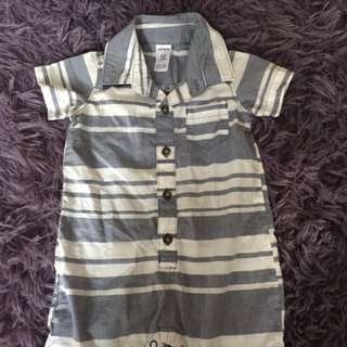 Carters one piece suit - brand new