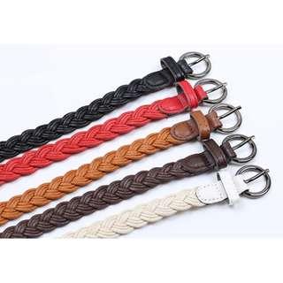 Weaving Leisure All Match Belts