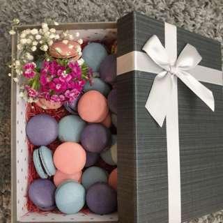 Macarons for engagement/wedding