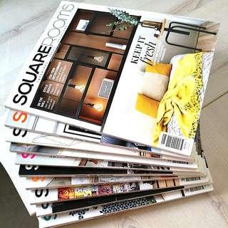 Squarerooms Book/ Magazine (10 copies)