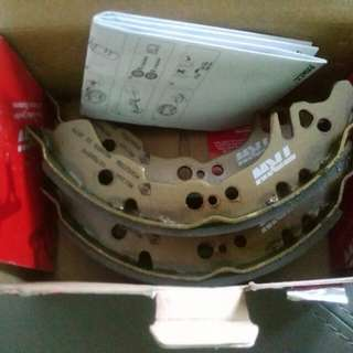 TRW Myvi Rear Shoe Brake - ABS equipped can fit