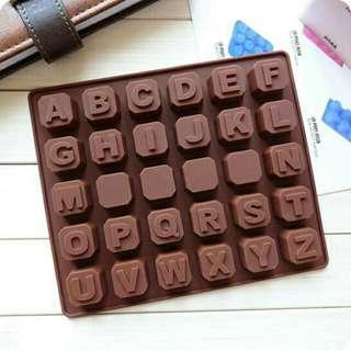 Cetakan Silikon Es Batu, Jelly, Coklat