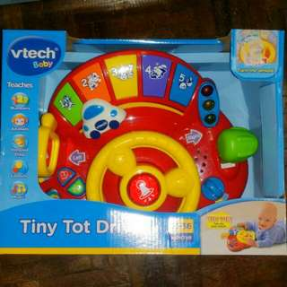 BNEW VTECH TINY TOT DRIVER