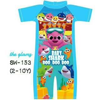 Baju Mandi Budak / Kids Swimming Suit