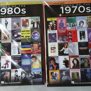 Song book of 70's & 80s (New)