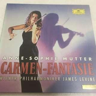 Anne-Sophie Mutter, Wiener Philharmoniker, James Levine – Carmen - Fantasie, 2x LP Box Set, Limited Edition No. 0551, Deutsche Grammophon – 480139-9, 1993, Japan