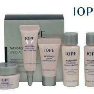 IOPE Moistgen Skin Hydration Kit 5 in 1