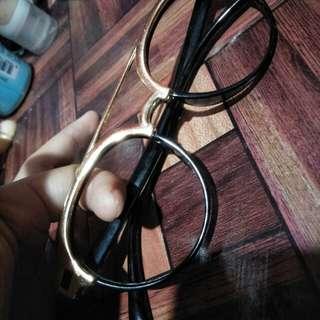 (TURUNHARGA)Kacamata gold