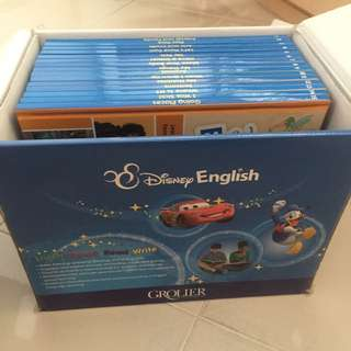 Disney English Books by Grolier