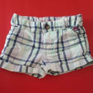 Hot pants - checkered