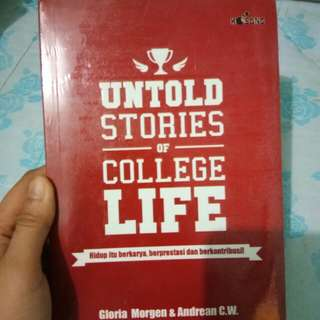 Untold Stories of Collage Life