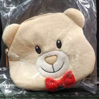 [THE SHILLA] Toby Bear Cosmetic Pouch