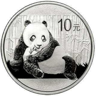 2015 China 1 oz Silver Panda BU (30pcs in seal sheet)